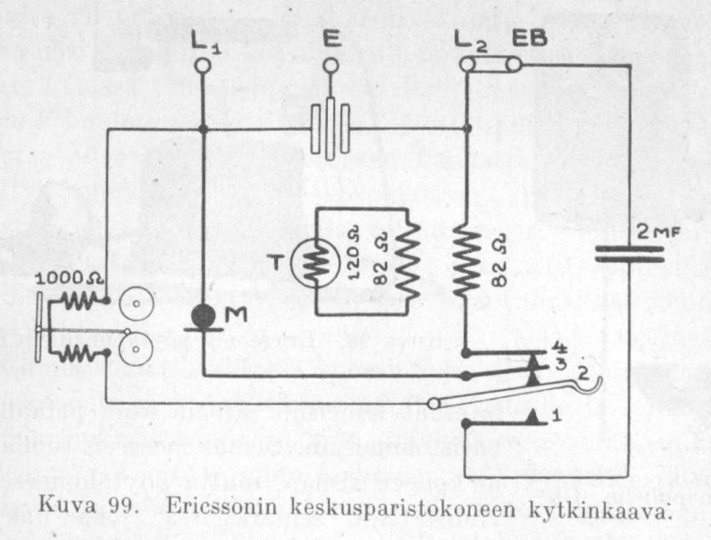 juha\u0027s telephone pages, ericsson cd140 Telephone Switchboard Parts here is the schematic for ericsson central battery telephone taken from \